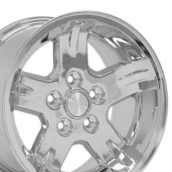 Set of 15x8 Chrome rims for Jeep YJ