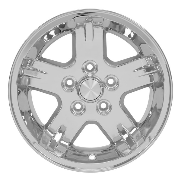 Set of 15x8 Chrome rims for Jeep TJ