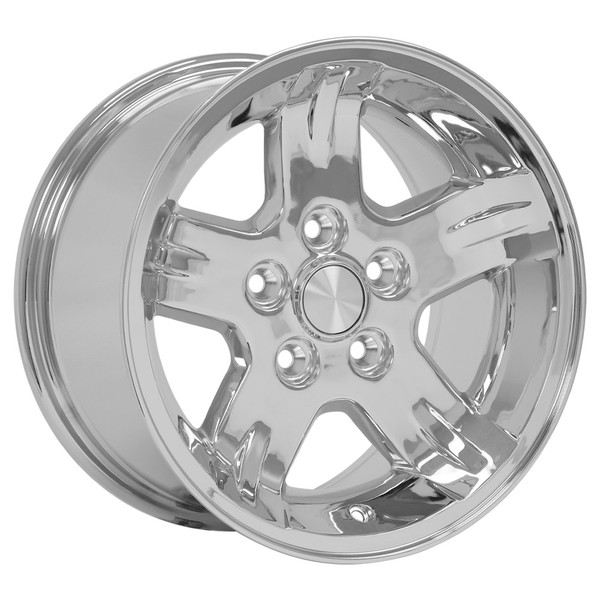 Set of 15x8 Chrome rims for Jeep XJ