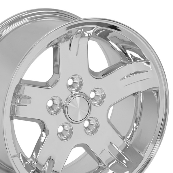 Set Chrome rims for Jeep Cherokee