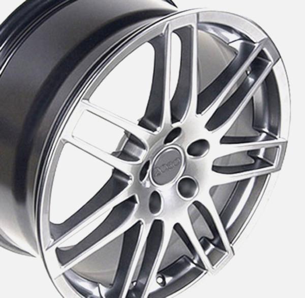 RS4 style rim hyper silver fits audi cc