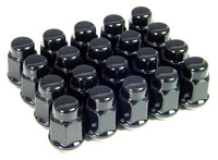 Set of 20 black lugs for cars