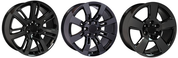 Black Chrome Rims
