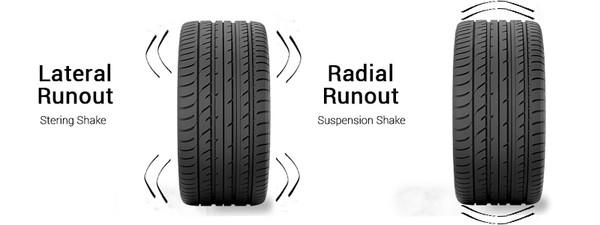 wheel runout illustration