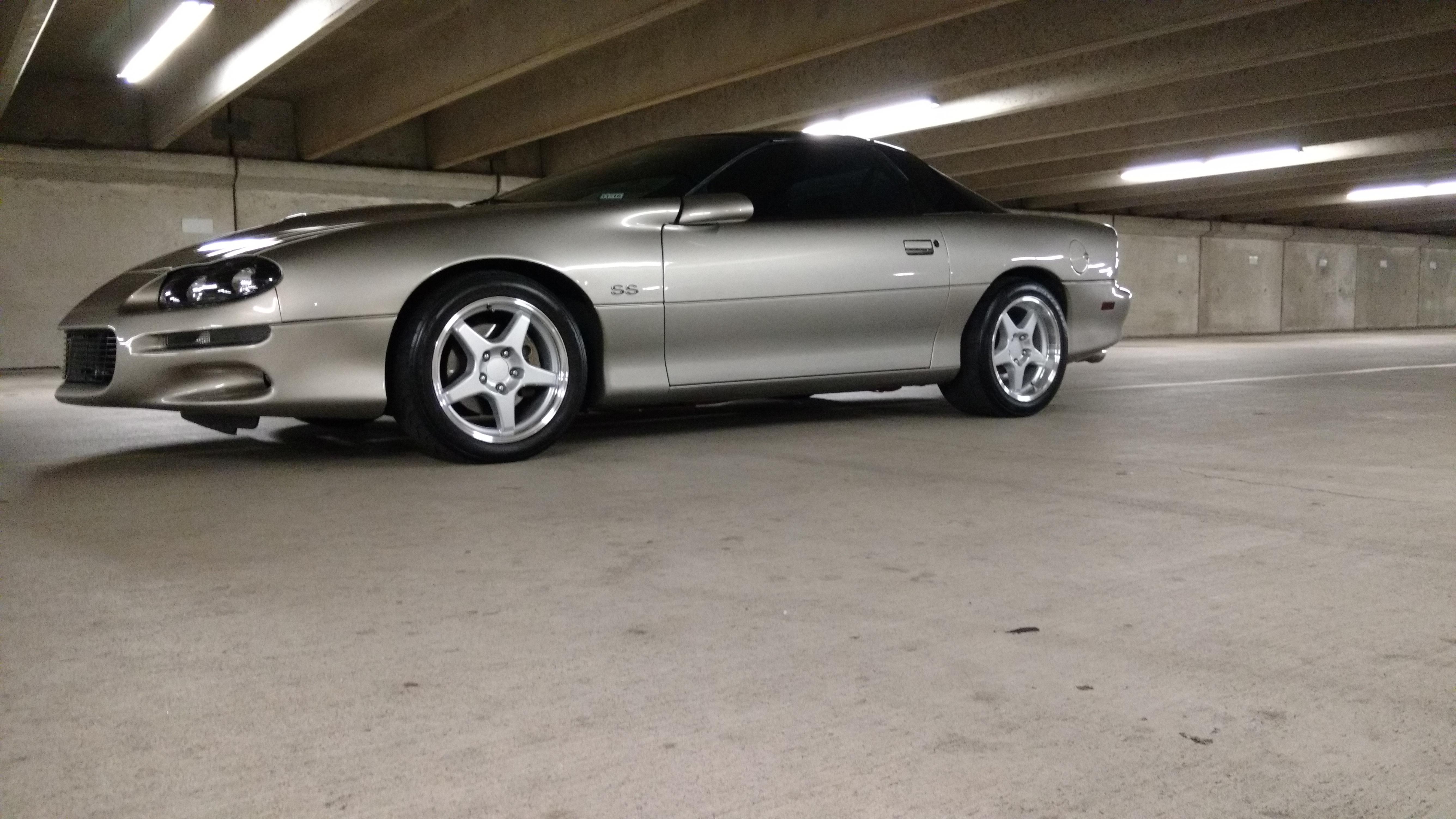 Chevrolet Corvette Zr1 Style Replica Wheels Silver 17x11