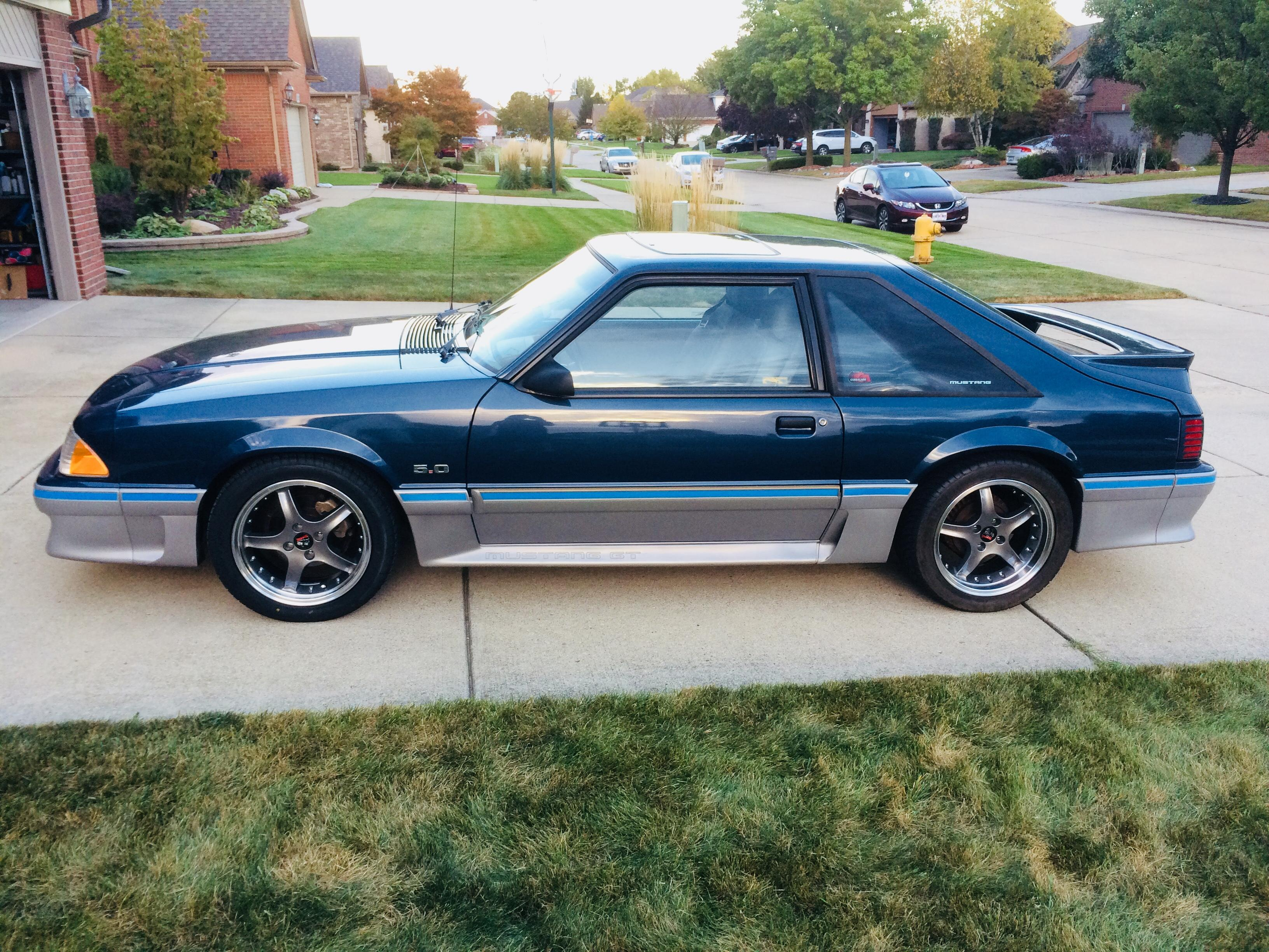 Purchased for my 87 mustang gt the fit and finish on these rims are awesome the rims run true with no vibration while driving