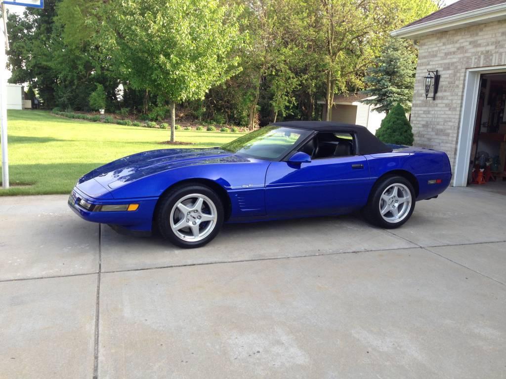 Corvette ZR1 Style Replica Wheels Silver 17x11/17x9 5 SET