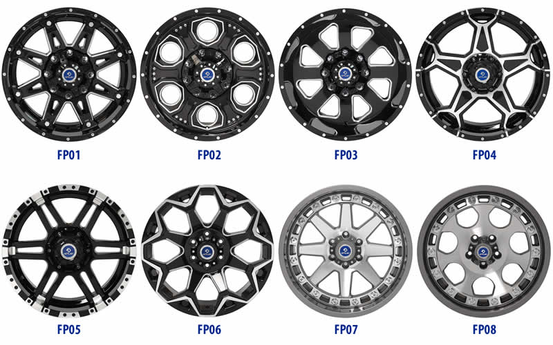 4Play Wheels are new custom wheels for trucks and suvs
