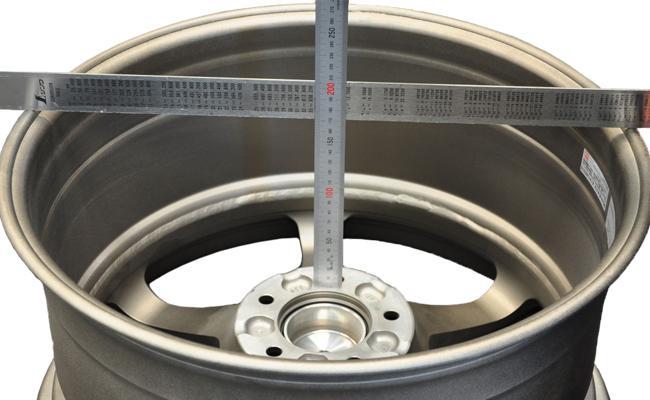 Wheel offset diagram