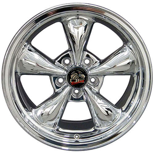 Fr01 chrome wheel for Mustang (Bullitt style)