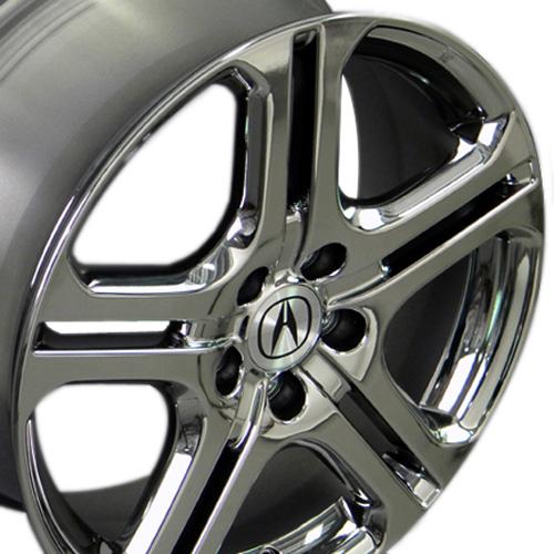 Acura on 18 X 7 5 Tl Oem Wheel 71735   Black Fits Acura
