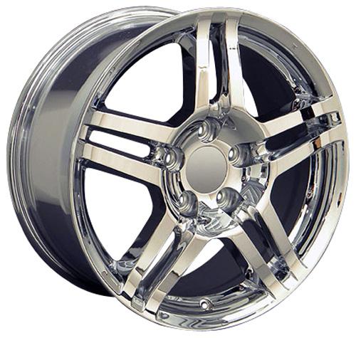17x8 Rim Fits Acura TL Style Honda Chrome Wheel 71762 B1W