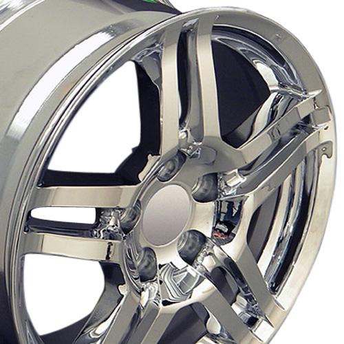17x8 Rims Fit Acura - TL Style Chrome Wheels 71762 SET