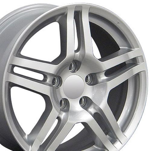 "17"" Wheel For Acura TL AC04 17x8 Silver Rim"