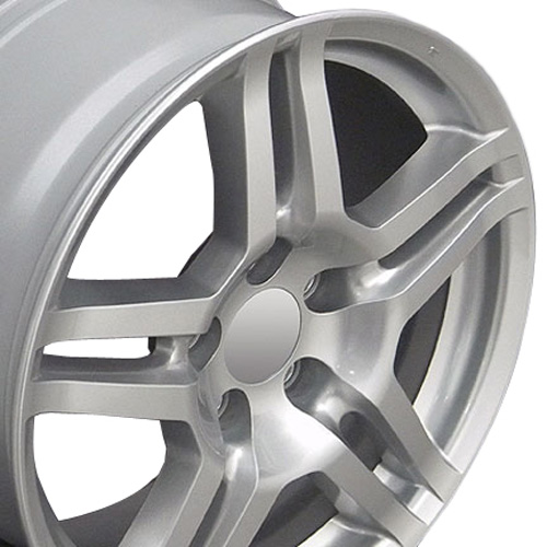 17x8 Wheel Fits Acura Honda TL Style Silver 71762 Rim W1X
