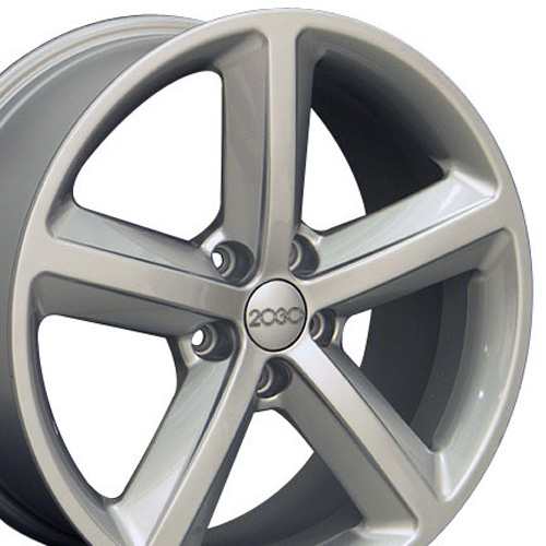 Replica Rims on 18 Fits Audi New A5 Replica Wheel Silver 18x8 Upc 8525913