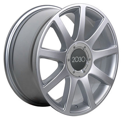 "18"" Silver RS4 Style Wheels SET Of 4 Rims Fit Audi A4 A6"