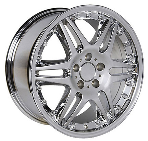 mercedes benz style replica wheel chrome 18x8 5 set