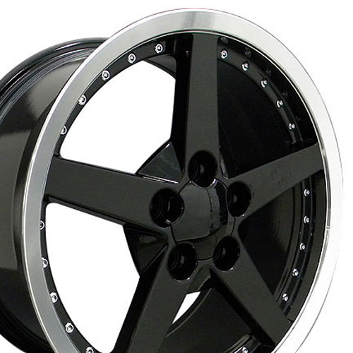 Wheels on Of 1 Adds A Set Of 4 C6 Style Replica Wheels To Your Shopping Cart