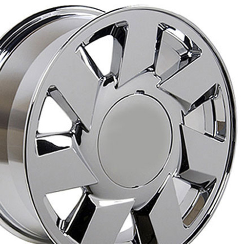 Image of 17 inch Rim Fits Cadillac DTS Style CA01 17x7.5 Chrome Wheel