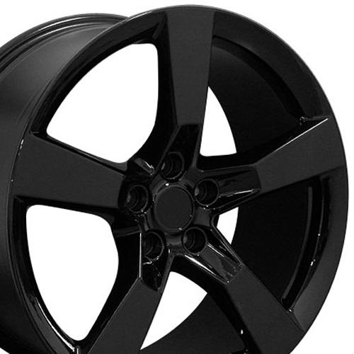 Camaro Wheels on 20 Fits Chevrolet Camaro Ss Wheels Black 20x9 Set Set Of 4 Camaro Ss