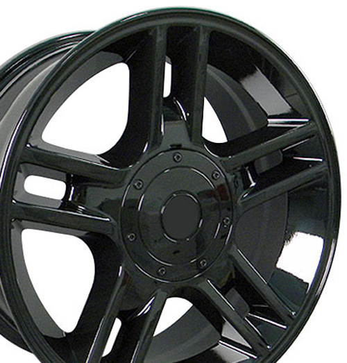 Harley Wheels on 20  Black F150 Black Harley Wheels 20x9 Rims Fit Ford Set   Ebay
