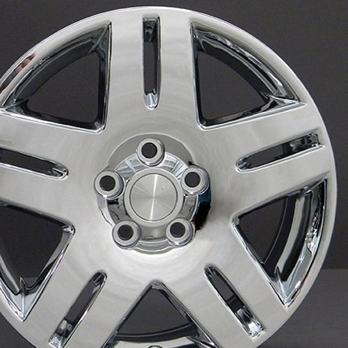 17 impala wheel chrome 17x6 5 rims fit chevy on popscreen. Black Bedroom Furniture Sets. Home Design Ideas