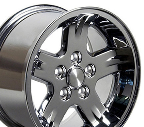15 inch Rim Fits Jeep Wrangler Style JP03 15x8 Chrome Wheel