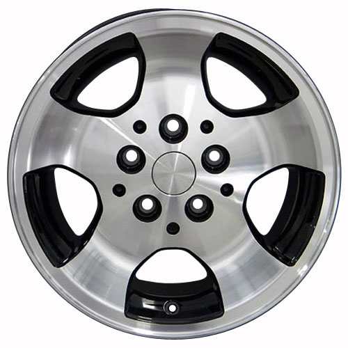 15 Rims Fit Jeep Wrangler Cherokee Black Machd Wheels 9024 Set