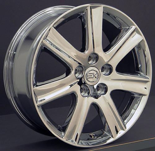 Lexus Es 350 Tires: 17-inch Chrome Rims Fit Lexus ES