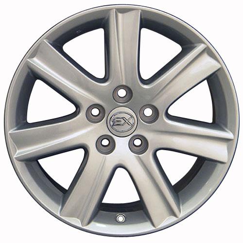 """Lexus Es 350 Tires: 17 X7"""" Silver ES 350 Style Wheels Fit IS LS GS Lexus"""