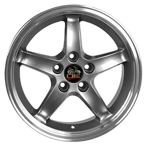 FR04 gunmetal wheel for Mustang (Cobra style)