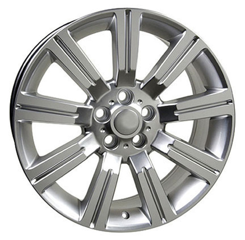 "2012 Land Rover Lr3 Hse: 20"" Hyper Silver Stormer Wheel Rim Fits Range Land Rover"