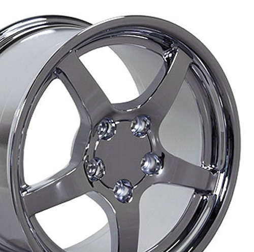 Camaro on 17 Fits Camaro Corvette C5 Wheels Tires Chrome 17x9 5 Set   New Cars
