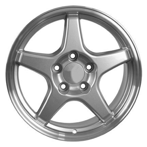 17 silver c4 zr1 wheels set of 4 rims fit corvette ss camaro 2017 Chevy Chevelle SS 454 product