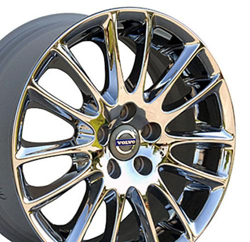 "17"" Chrome Volvo Tucana Wheels SET of 4 OEM 70304 Rims C70 S40 V40 S60 V70 XR | eBay"