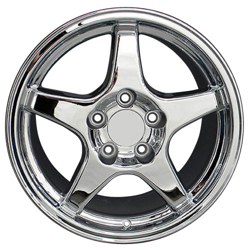 17 Zr1 Chrome Wheel Rim Fits Corvette Trans Am Firebird Ss
