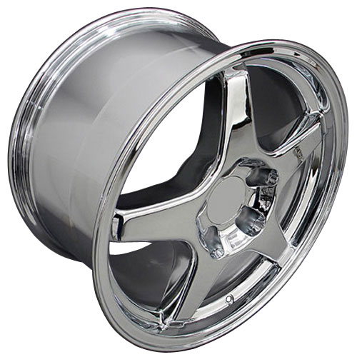17x9 5 Rims Fit Corvette Camaro Zr1 Style Chrome Wheels